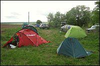 Палаточный геокешерский лагерь / фото: Mish