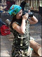 Юный фотограф / фото: Крапива