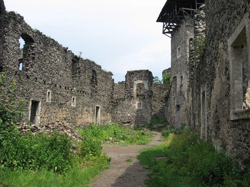 Khust castle