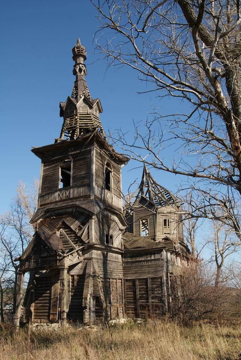 фото деревянные церкви руси