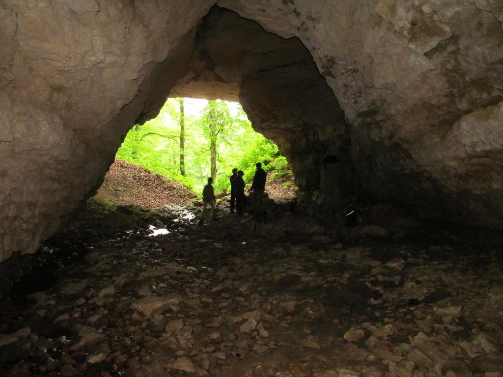 основной вход в пещеру Духан