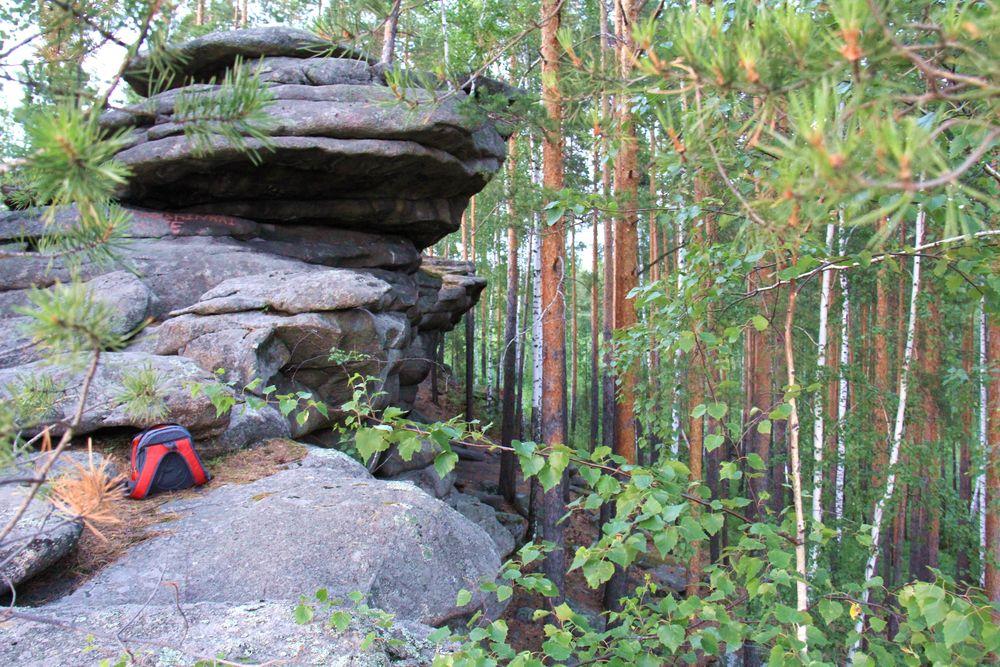 Россия     ландшафты Шабровские палатки