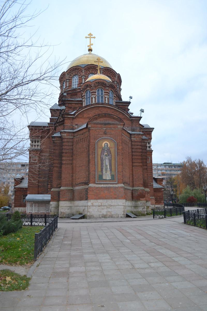 Санкт-Петербург Церковь иконы Божией Матери