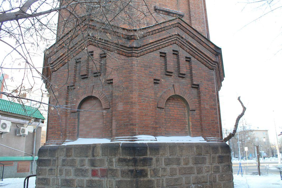 Водонапорная башня около челябинска