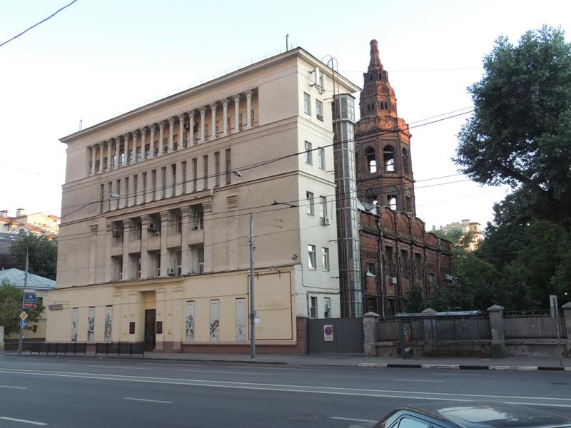Росимущество передало РПЦ бывшее строение «Союзмультфильма»